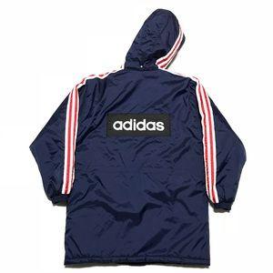 Vintage Adidas Down Parka Jacket